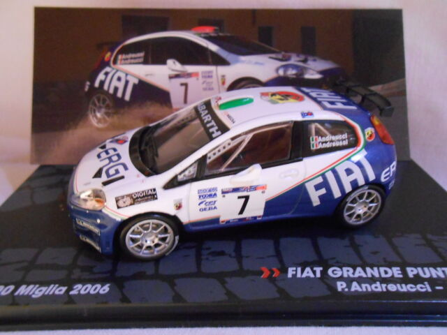 Fiat Gran Punto S2000 Rally 1000 Miglia 2006 Andreucci 1/43