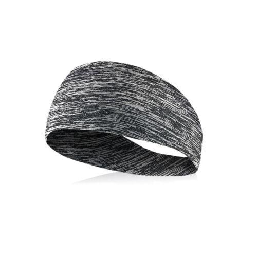 Stretch elastisches Stirnband Yoga Laufsport Gym Headwrap Schweißband Haarband
