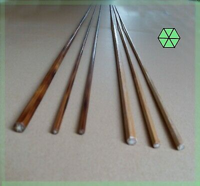 2 sets bamboo fly rod blanks