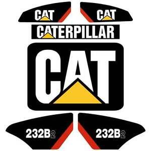 CAT-216B2-226B2-232B2-236B2-242B2-252b2-247B2-257B2-Repro-Kit-Decals-Stickers