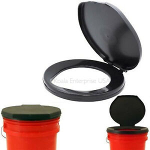 Bon Image Is Loading Portable Toilet Seat Cover Camping Outdoor Bucket Bathroom