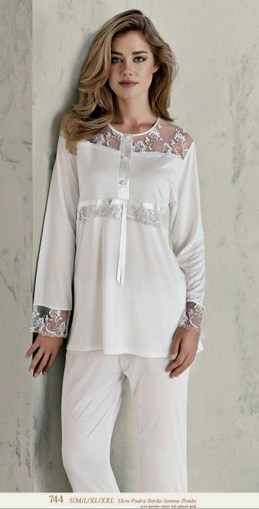 Ladies Nightwear pajama set 744 Large