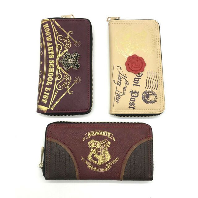 Harry Potter  Wallet Bifold Purse Card wallet woman man wallet purse