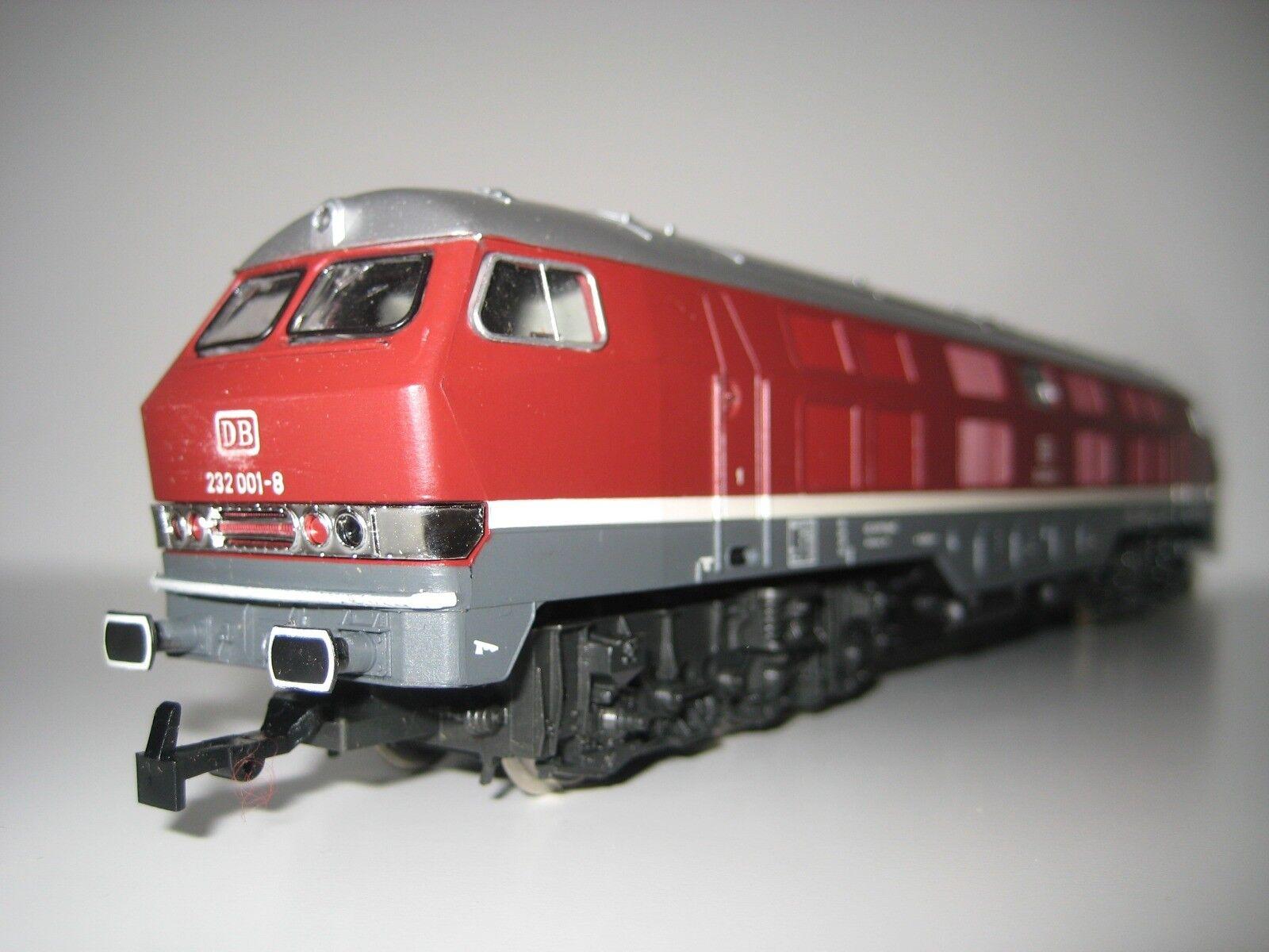 Rivarossi H0 1996 - Locomotora BR 232 001-8 DB