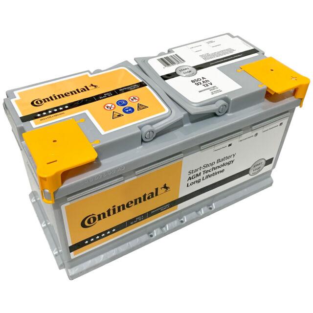 AGM Autobatterie 12V 95Ah 850A BIG Start-Stop Batterie statt 100Ah 92Ah 90Ah