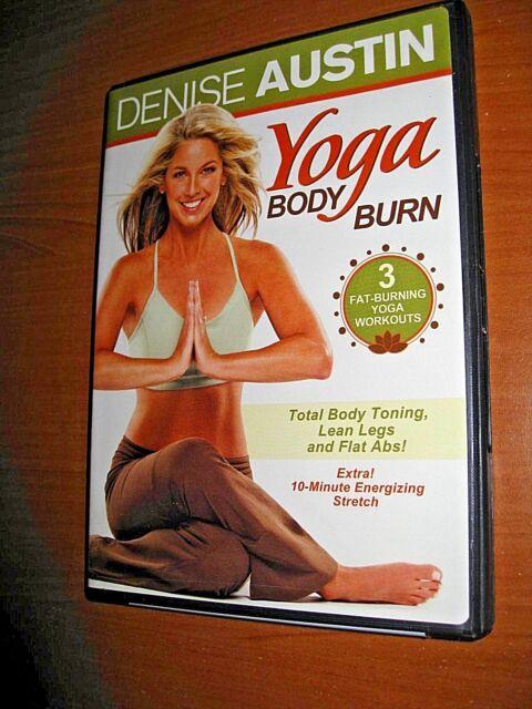 Denise Austin Yoga Body Burn Dvd For Sale Online Ebay