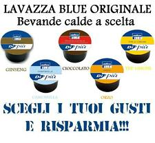200 CAPSULE LAVAZZA BLUE BLU THE' LIMONE ORZO GINSENG CIOCCOLATA A SCELTA CIALDE