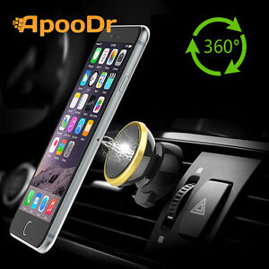 ApooDr Universal Magnetic Car Mount Cell Phone Holder Stand for iPhone SAMSUNG