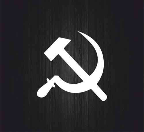 Sticker tuning decal car urss flag cccp ussr emblem hammer soviet russia r2