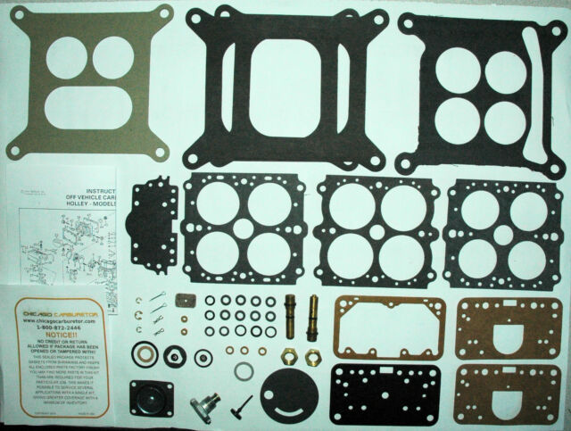"1977 CARB KIT HOLLEY MODEL 4160C LIST 9040 4 BARREL FORD MERCURY 460/"" ENG NEW"