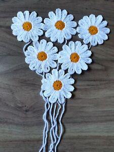 6X-CROCHET-FLOWERS-2-5-DAISY-HANDMADE