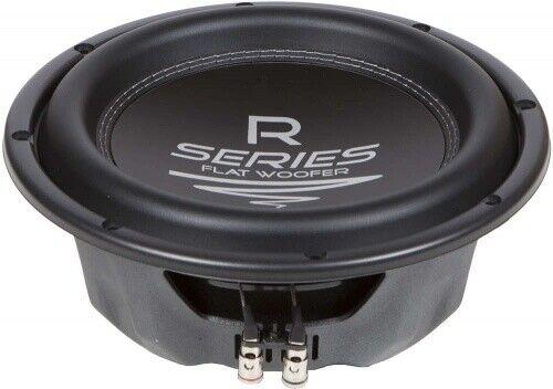 Sistema de audio R 08 Flat 20 cm subwoofer 4 Ohm 150 RMS 150 RMS 4 Ohm altavoces