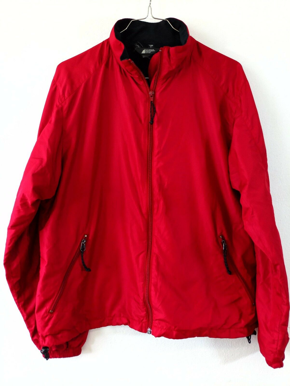 Mountain Equipment Co-op Da Donna Giacca Giacca Giacca Donna A VENTO ROSSO SZ L Canada Foderato in Pile 74be7a