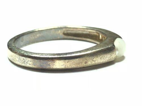 Vintage Ladies Sterling Silver Ring Size 7.5 Wave Design TAKE A LOOK!