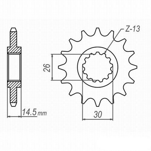 Kettensatz HONDA CB 750 Seven Fifty rc42 92-03 DID VX X-ring g/&b sans fin