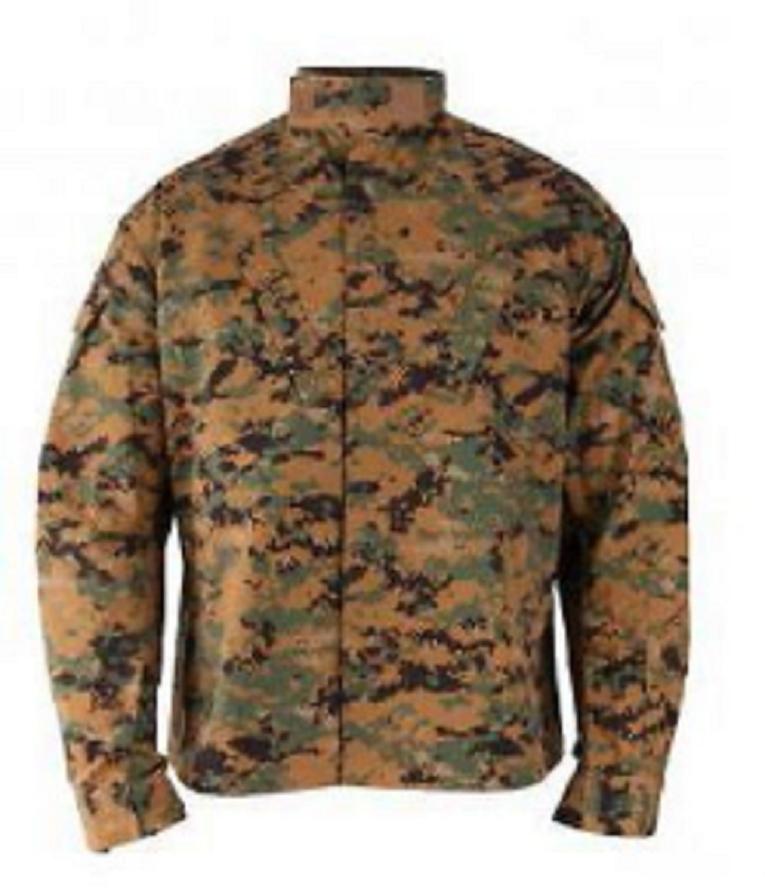 PROPPER MARPAT Army boisland digital usmc US Combat Battle Rip Veste Coat SR