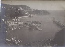 Nice Le Port Côte d'Azur France Photo amateur Vintage argentique vers 1910