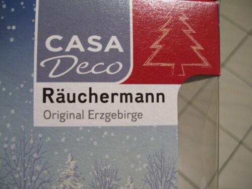 Erzgebirge Räuchermann Räuchermännchen Nikolaus  Kuhnert Steinberg #fluschr