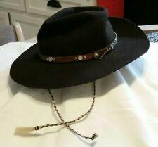 Men/'s Wool Cowboy Hat Laramie Shapeable Western Felt Hats by Silver Canyon