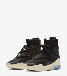 14e885c4b Nike x Air Fear Of God 1 Black Jerry Lorenzo AR4237-001 w/Receipt ...