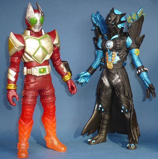 Figura Rey King revista limitada Kamen Rider galo vs Pavo Real no-muertos Nuevo Japón