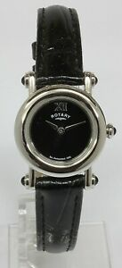 Ladies-Rotary-Stainless-Steel-Round-Black-Face-Watch-LS00034-10-20-11-128