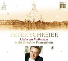 PETER SCHREIER/+ - LIEDER ZUR WEIHNACHT IN DER DRESDNER FRAUENKIRCHE  CD NEU