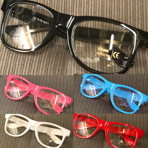 Children Girls Boys Classic  Fashion Clear Lens Glasses UV400 Protected