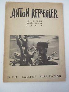 1942-ANTON-REFREGIER-Exhibition-Catalog-ACA-Gallery