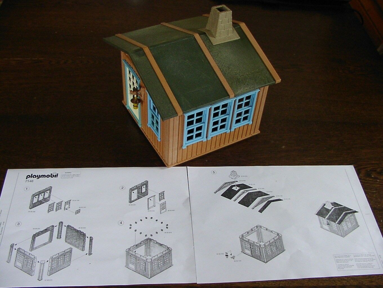 Playmobil 7146 Holzhaus Western Haus Farmhaus NEU in Folie OVP RAR