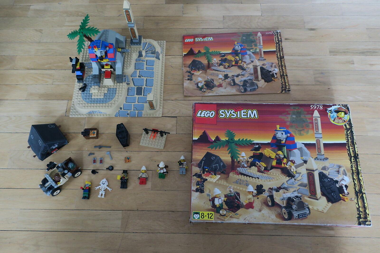 LEGO SYSTEM 5978 - AVVENTURIERI SPHYNX SECRET SORPRESA