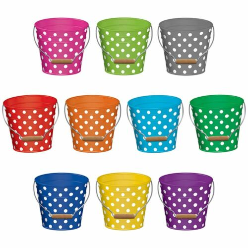 Polka Dots Buckets Accents Teacher Created Resources TCR5631