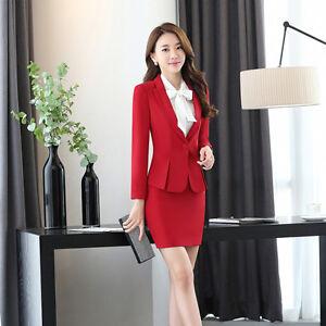 2018 Fashion Elegant Women Clothing Suits Blazers Women Office Dress