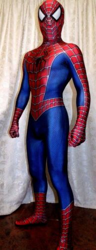 High Quality The Marvel Raimi Spider-Man 3D Printing With Muscle Shading Costume