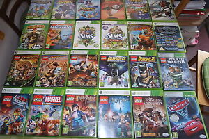 Xbox 360 Kids Games Make Your Selection Sonic Minecraft Disney Cars
