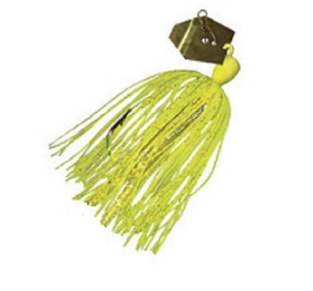 1-Pack Green Pum-Packin//Black Z-Man CB38-13 Chatterbait NEW 3//8-Ounce