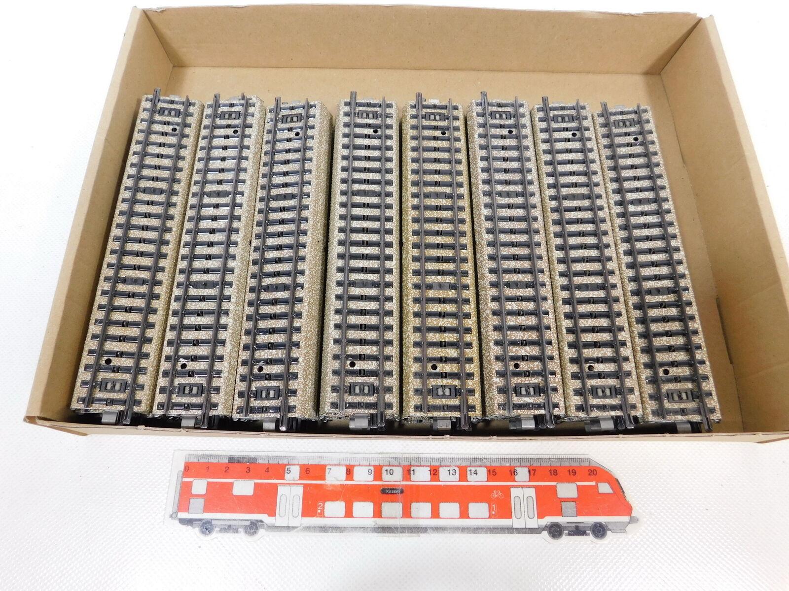 BZ812-2 x Märklin H0 AC   5106 Piezas de vía Carril M Pista Recta