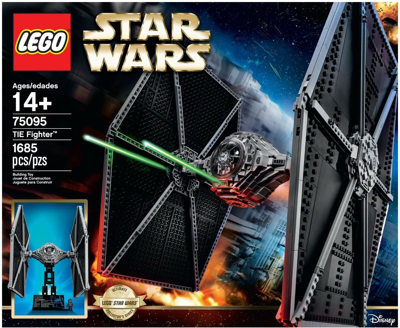 LEGO STAR WARS UCS TIE FIGHTER 75095 - SEALED