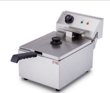 3000w 10l Commercial Electric Deep Fryer Restaurant Stainless Steel 87qt Us New