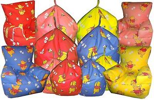 Image Is Loading Winnie The Pooh Bear Beanbag Childrens Bean Chairs