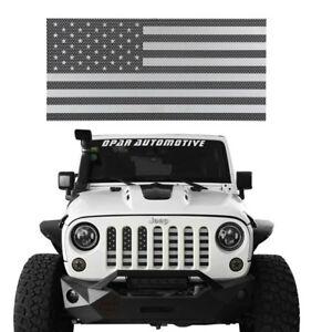 Stainless Steel American Flag Grille Insert Mesh For Jeep Wrangler