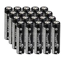 20Piece AAA 10440 High capacity 3.7V TrustFire Rechargeable Li-ion Battery 23T7