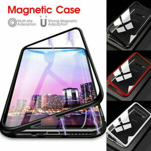 Case-For-Samsung-Galaxy-A10-A20-A40-A50-A70-Magnetic-Edge-Glass-Back-Phone-Cover