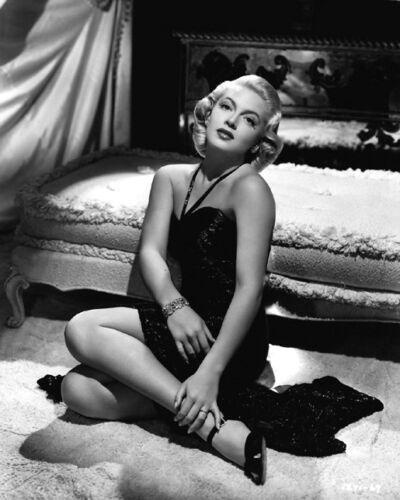 1943 Movie Film Actress LANA TURNER Glossy 8x10 Photo Slightly Dangerous Poster