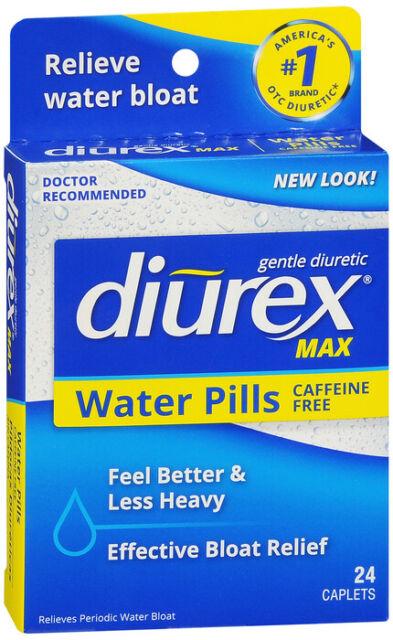 DIUREX MAX WATER CAPLETS 24CT