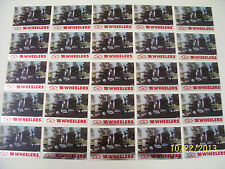 Lot of 25-1990 Kenworth Semi Truck 18 Wheelers Trading Cards (READ AD)