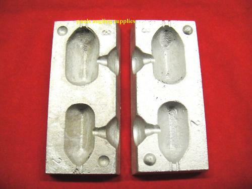 Square Carp Fishing Lead Weight Mould 3 /& 4 oz