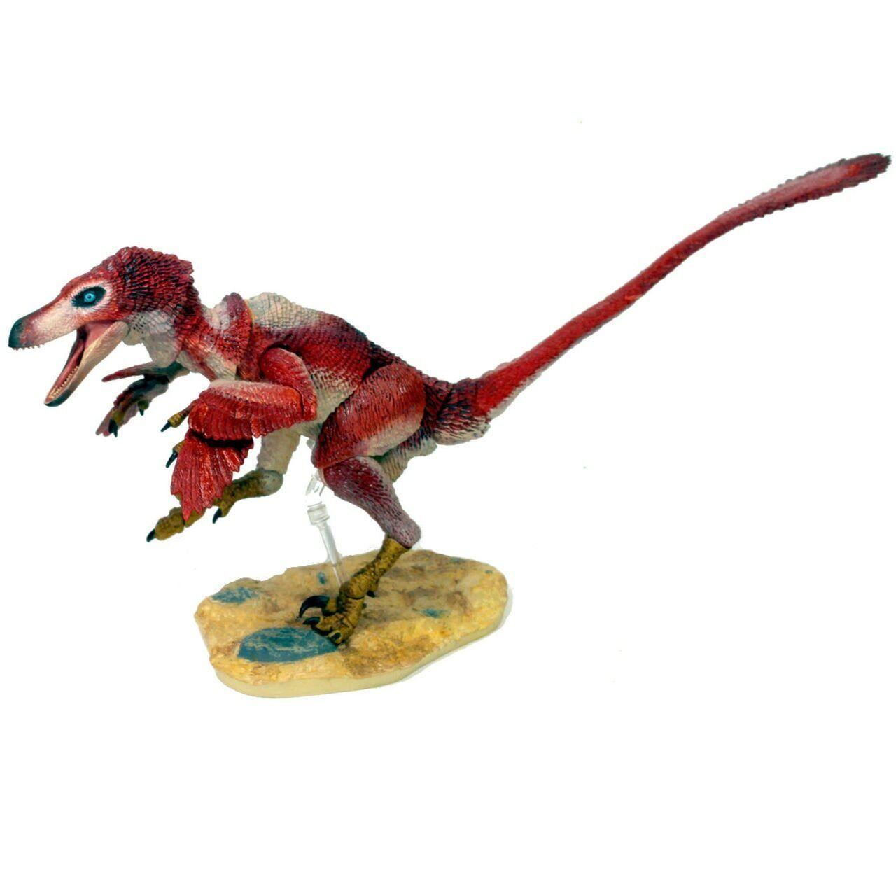 Beasts of the Mesozoic Velociraptor Osmolskae rosso 1 6 Scale Figurine