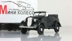 Scale-model-car-1-43-GAZ-61-40-open-dark-grey-1941