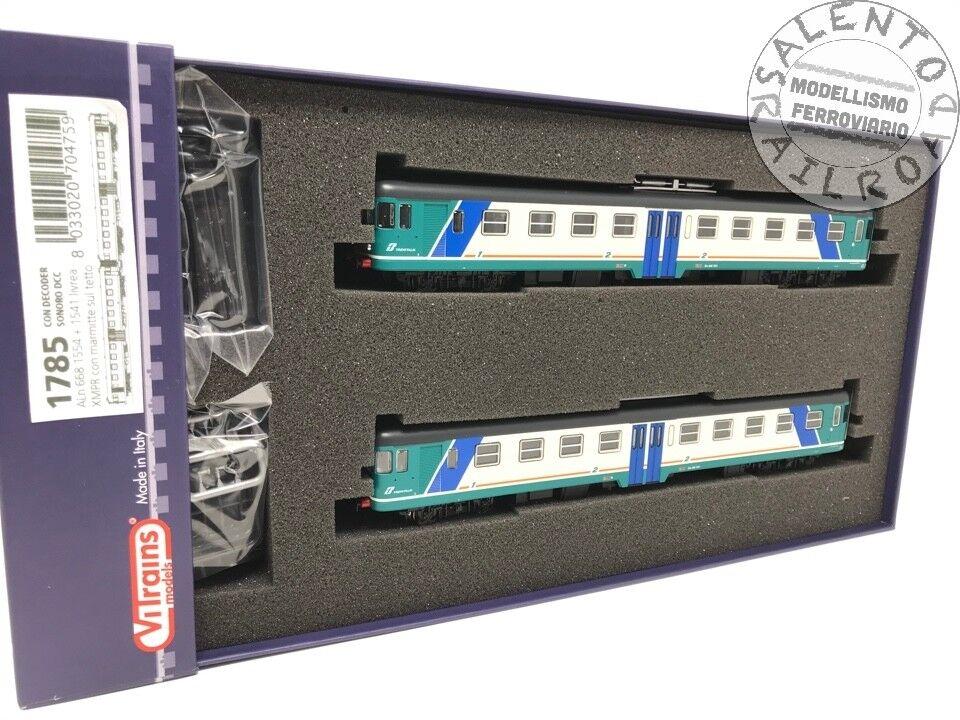 Vitrains 1785, locomotoras al al al 668 1554 y 1541 livery xmpr DCC Sound. c24